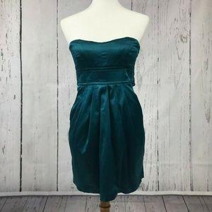 XXI Forever 21 Bodycon Teal Green Mini Dress